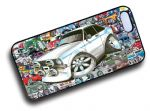 Koolart STICKERBOMB STYLE Design For Retro Mk2 Ford Escort Mexico Hard Case Cover Fits Apple iPhone 4 & 4s